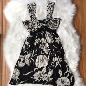 Floral Empire Fit Dress NWOT